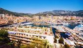 Principality of Monaco harbor — Stock Photo
