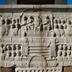 Постер, плакат: The Marble Pedestal of Theodosius Obelisk