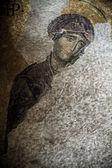 Hersteld mozaïeken binnen hagia sofia — Stockfoto