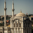 View of Ortakoy Mosque from Sea Side — Stock Photo