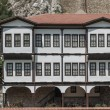 Old Traditional Ottoman Houses — Stock Photo