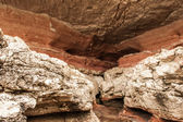 Different Colored Rock Layers — Foto Stock