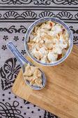 Traditional Turkish Ravioli, Manti — Stock Photo