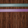 Ribbon Stripes design on Woven Rattan — Stock Photo