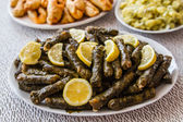Sarma, Stuffed Grape Leaves — Stock Photo