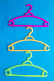 Colorful Clothes Hanger — Foto de Stock