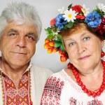 Portrait of an elderly couple — Stock Photo #11461705