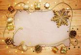 Oude kerst stilleven — Stockfoto