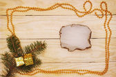 Still Life with a garland — Stock Photo