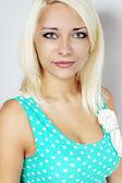 дружественные блондинка — Стоковое фото