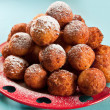 Ruddy cheese balls — Stock Photo