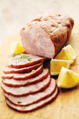 Pork ham — Stock Photo