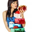 Stock Photo: Surprise gifts