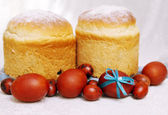Two Easter cake — Stock Photo