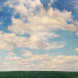 Sky with clouds,vintage — Stock fotografie