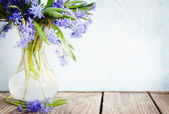 Bouquet copy space — Stock Photo