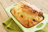 Bread with dried fruit — Stock Photo