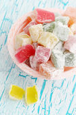 Dessert Turkish delight — Stock Photo