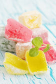 Pile Turkish delight — Stock Photo
