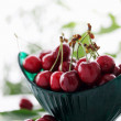 Juicy cherries - Stock Photo