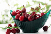 Juicy berries cherries — Stock Photo