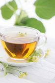 Lime tea — Foto de Stock