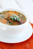 Hot soup — Stock Photo