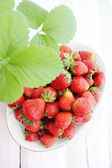 Strawberry top view — Stock Photo