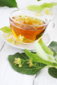Lime tea — Stockfoto