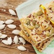 Cookies with seeds — Stock Photo