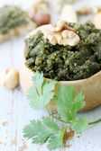 Pate nuts cilantro — Stock Photo