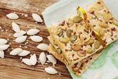 Biscotti con semi — Foto Stock