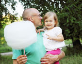 Cotton candy — Stock Photo