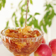 Kremankwith apple jam — Stock Photo #34246435