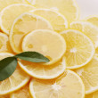 Stock Photo: Honey and lemon