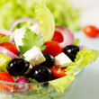 Greek salad with cheese — Stock Photo #34250071
