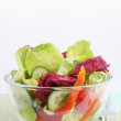 Vegetables salad — Stock Photo