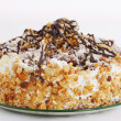Cake with nuts — Stock Photo #44575427