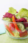 Vitamin salad of lettuce — Stock Photo