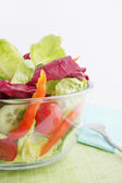 Salad of lettuce — Stock Photo