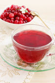 Cool drink cranberry — Stock Photo