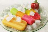Glace aux fruits — Photo