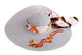 Letní klobouk — Stock fotografie
