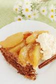 Hot apple pie — Stock Photo