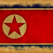 North Korea grunge flag — Stock Photo #11406134