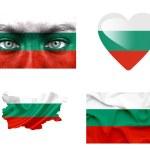 Set of various Bulgaria flags — Stock Photo #12192020