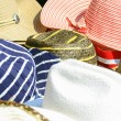 Colorful hats background - Stockfoto