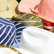 Stock Photo: Colorful hats background