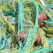 Fishing net background — Stock Photo #12880203
