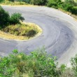 Stock Photo: Winding paved road